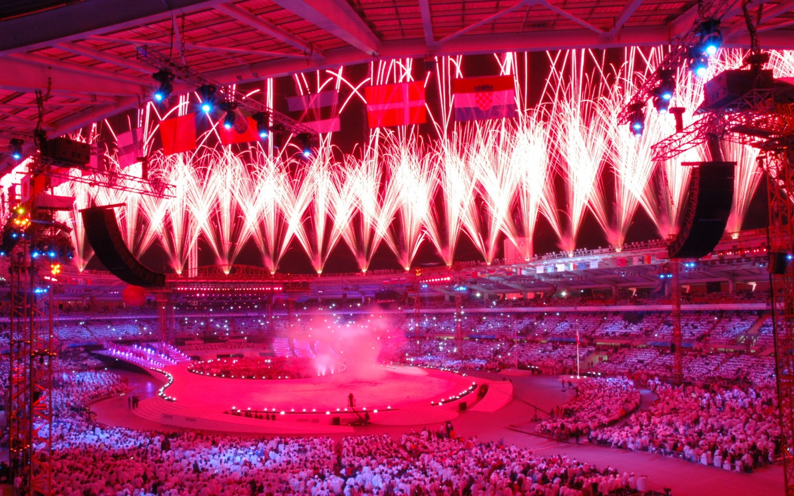 Opening and Closing Ceremony of Olympic Games Turin 2006